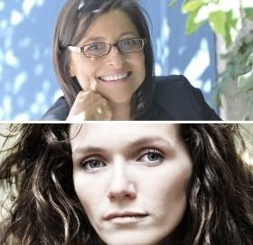 Michèle Fitoussi et Bérangère Portalier