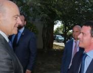 Alain Juppé et Manuel Valls