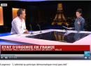 JP Moinet sur le plateau de France 24
