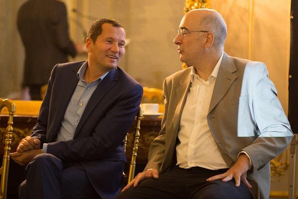 Julien Levy, professeur à HEC Paris & Eric Moulines, professeur à l'Ecole polytechnique