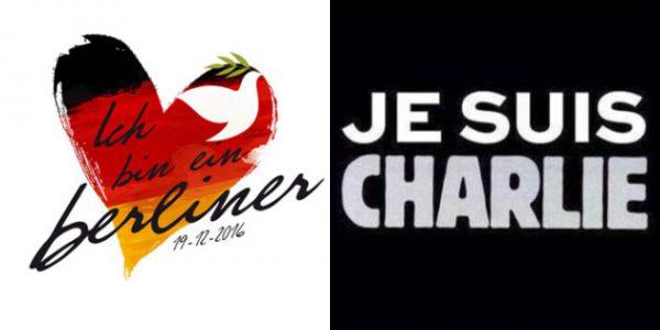 Attentats à Berlin ou en France, même solidarité