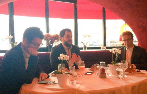 Nicolas Bouzou, économiste, essayiste, directeur-fondateur d'Asterès, auteur notamment de « L'innovation sauvera le monde – Philosophie pour une planète pacifique, durable et prospère » (Plon), Jeremy Ghez, professeur affilié d'Economie et d'Affaires internationales à HEC Paris, co-Directeur du Centre de Géopolitique et ancien rédacteur en chef du trimestriel La Nouvelle Revue Géopolitique, François Miquet-Marty, président de Viavoice