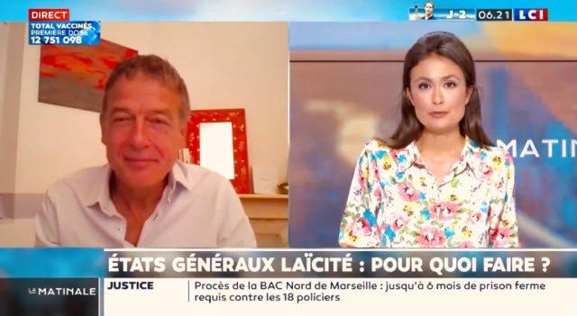 Jean-Philippe Moinet était interrogé par la chaîne LCI sur la Laïcité et les Etats généraux de la Laïcité