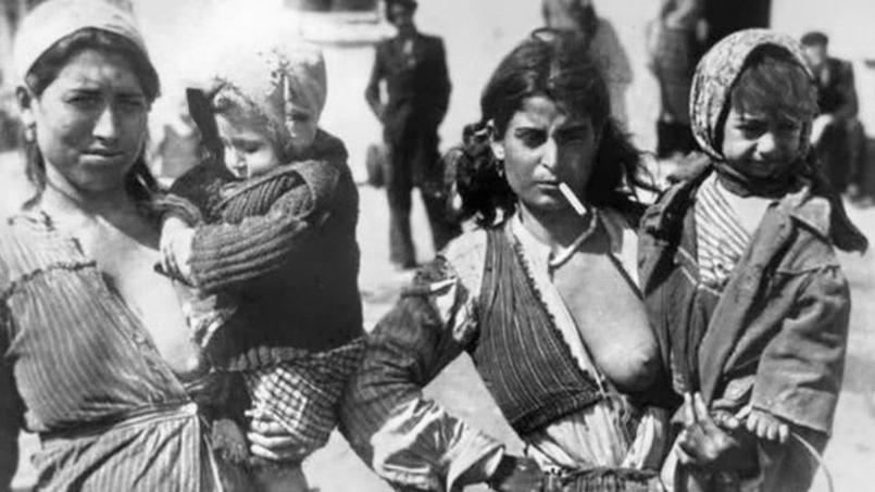 Les tziganes, internés à Rivesaltes comme les juifs. Avant parfois d'être déportés dans les camps d'extermination nazis